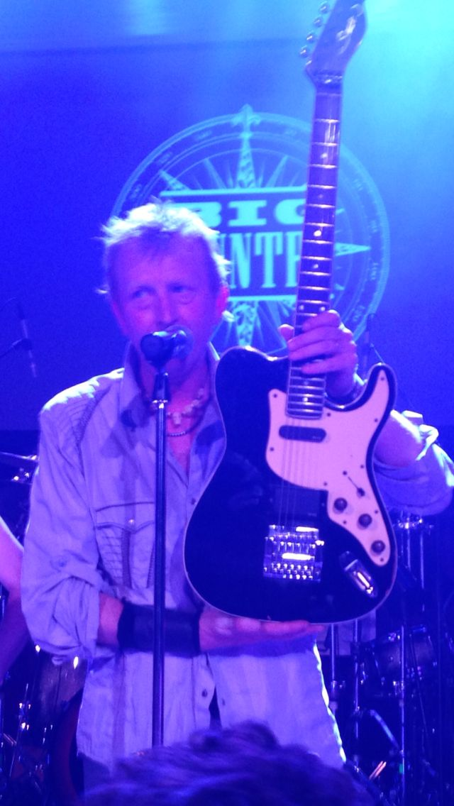 Stuart's guitar